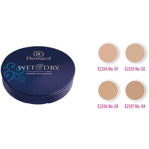Wet & Dry Powder Foundation No. 01 Dermacol San Francisco