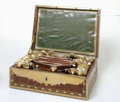 Napoleon's campaign necessaire at the  Le Musee de Carnavalet