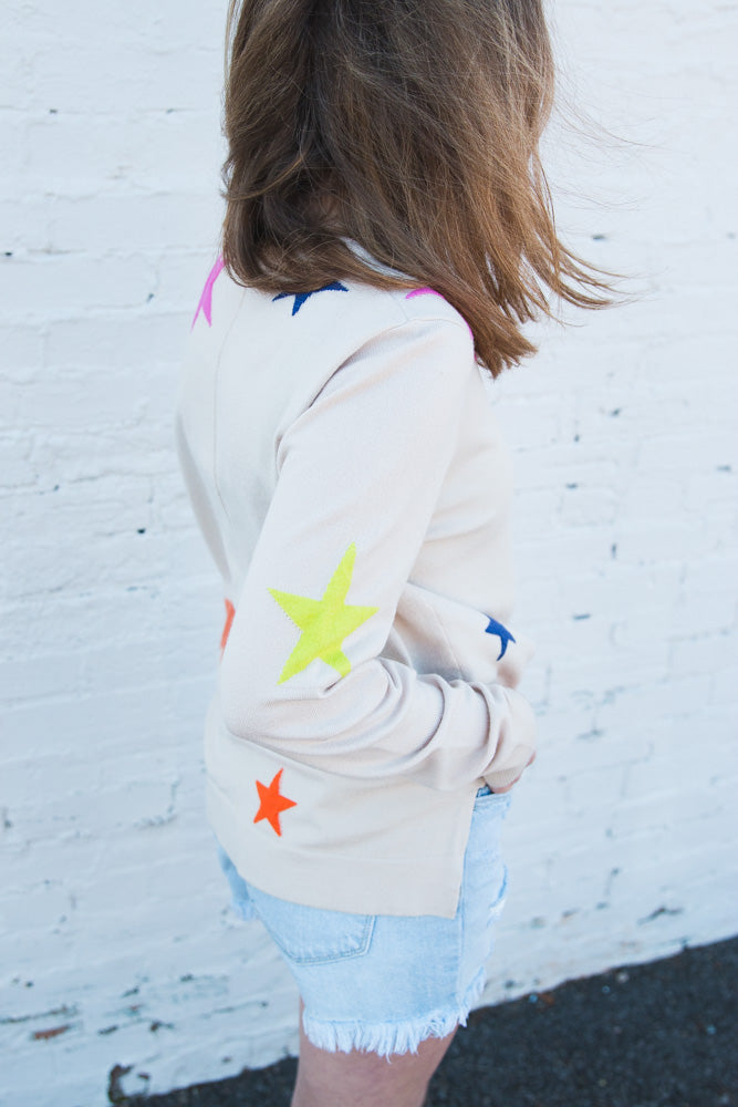 Sterrling Star Sweater
