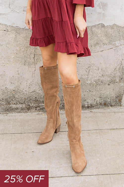 Aresa Over The Knee Boot - Willow House Boutique