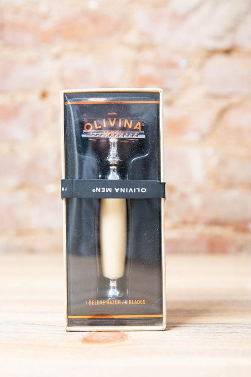 Safety Razor- Ivory - Willow House Boutique