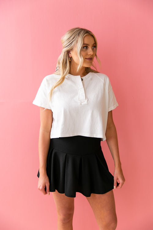 Country Club Pleated Skirt
