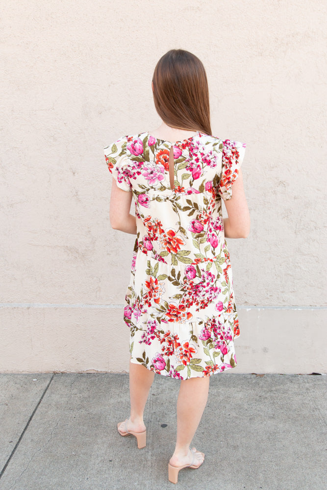 Poppy Floral Dress - Willow House Boutique