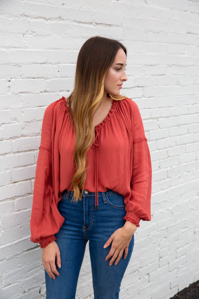 Banda Blouse - Willow House Boutique