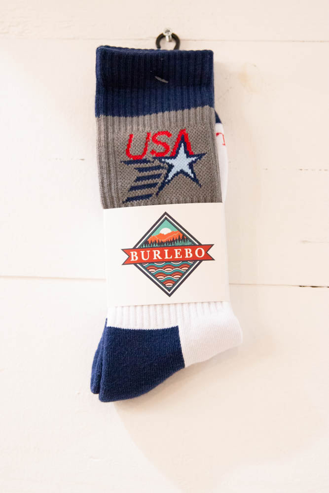Men's Burlebo Socks - Willow House Boutique