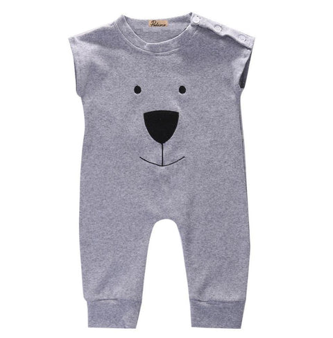 Fleece Buddy Bear Jumpsuit