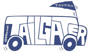 Tailgater Taters Blue and White Chips