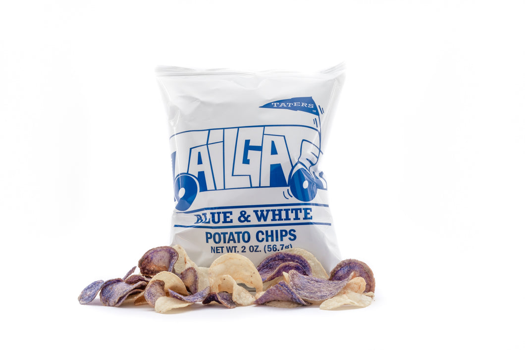 Blue and White Chips