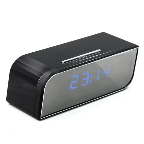 1080P WIFI Mini Security Camera Alarm Clock Motion Detection