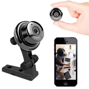 HD Mini WIFI Camera With Smartphone App and Night Vision Security Cameras Video Recording