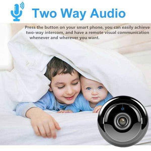 Mini WIFI Camera With Smartphone App and Night Vision Wireless Security Cameras