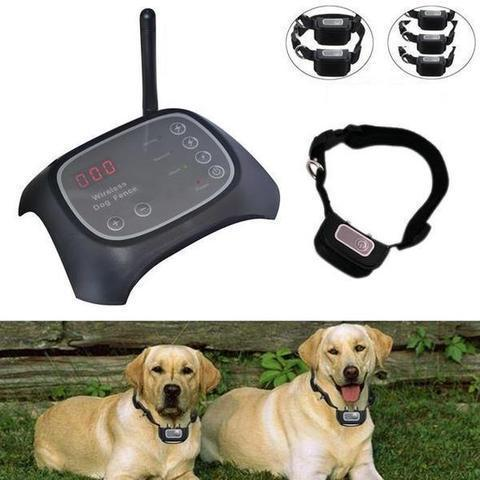 Invisible Wireless Dog Fence With Shock Collars