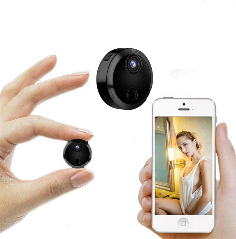 2019 Mini WIFI Camera With Smartphone App and Night Vision Video Recording 1080P Remote Monitor