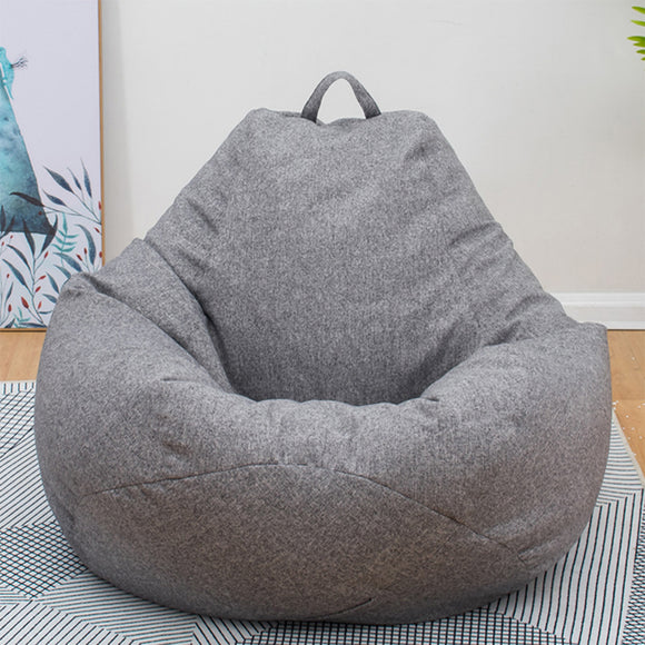 Bean Bag Large Small Lazy Sofas Cover Chairs without Filler