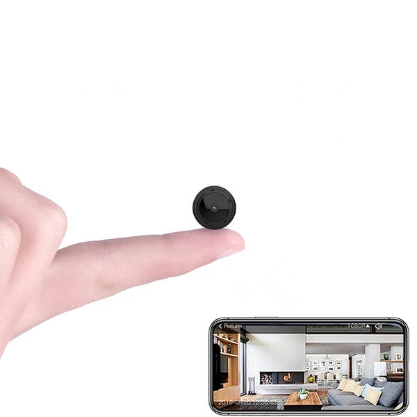 Mini WiFi Camera 1080P HD IR Night Vision Home Security Camera Baby Monitor