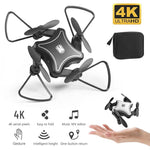 Best Drones 2019 New Original Mini Blade Drone Folding UAV RC Drone with 4K HD Camera 4-axis Drones Toys