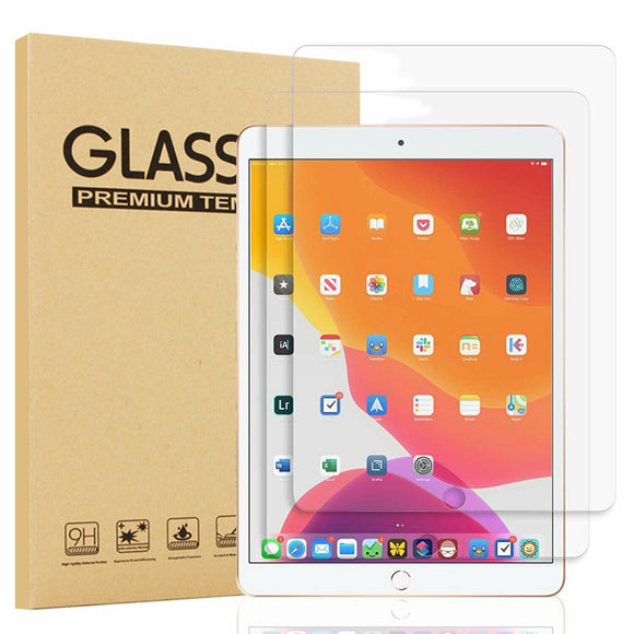 2 Pack Tempered Glass Screen Protector for 2019 iPad