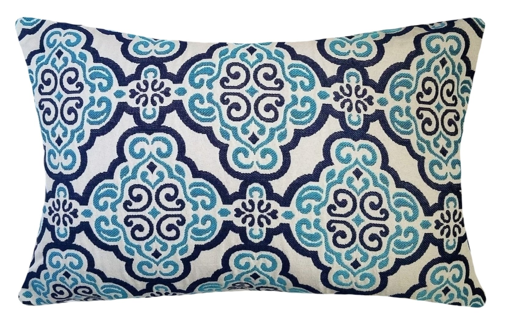 blue-and-turquoise-medallion-pillows