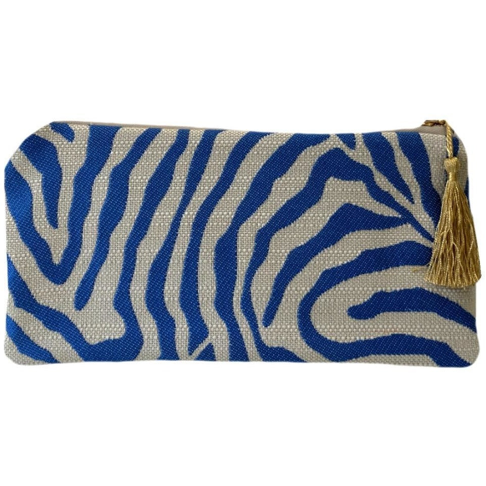 blue-zebra-print-women's-handbag