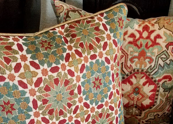 burnt-orange-and-brown-throw-pillows
