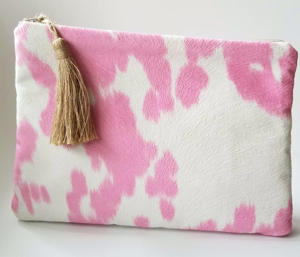 pink-faux-animal-fur-small-purse
