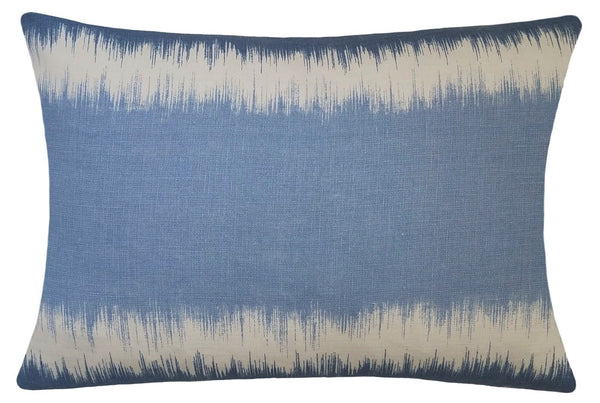 pale-blue-linen-ikat-print-pillow-cover