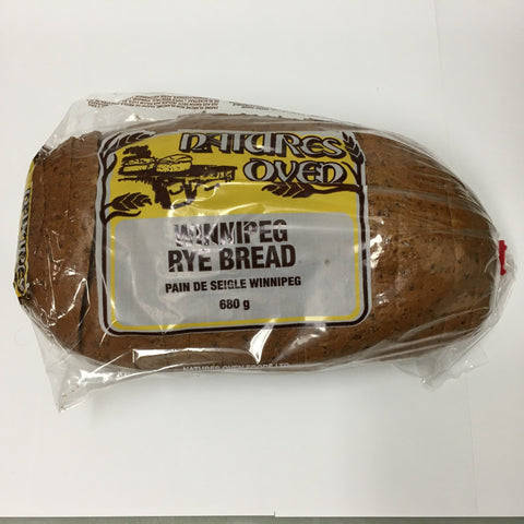 Natures Oven Winnipeg Rye Bread