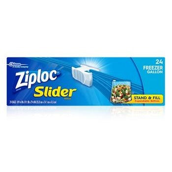Ziploc Slide Loc Freezer Medium