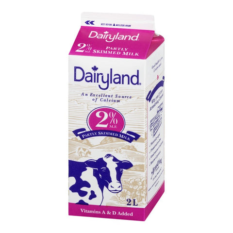 Dairyland 2l 2% Milk