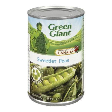 Green Giant Sweetlet Peas