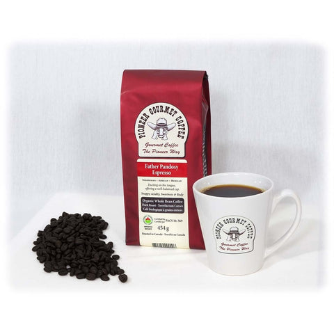 Father Pandosy Espresso Pioneer Gourmet Coffee
