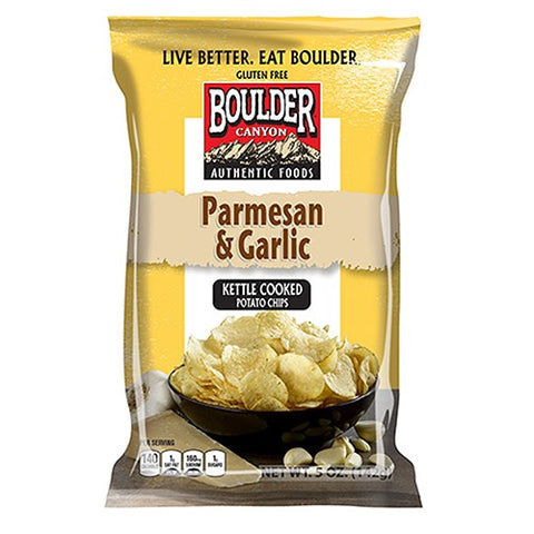 Boulder Chips Parmesan & Garlic
