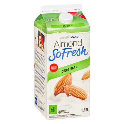 Earth's Own 1.89L Almond SoFresh