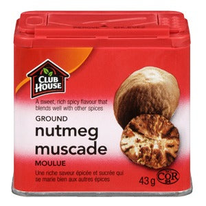Club House Ground Nutmeg Tin