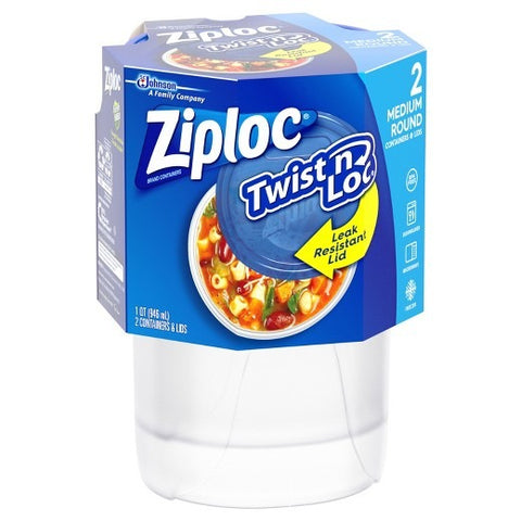 Ziploc Twist 'n Loc Medium