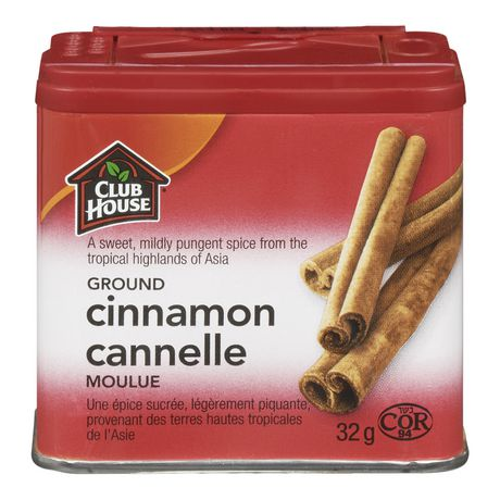 Club House Ground Cinnamon Tin