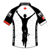 Wind Cycling Centre Tech Pro Jersey White