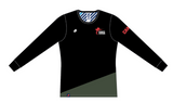 Karate Canada Supporter Black Long Sleeve Tee / Chandail à manches longues noir