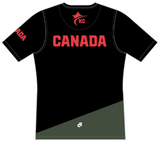 Karate Canada Supporter Black Tee / Chantail à manches courtes noir