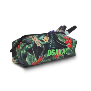 Pencil Case - Navy Flowers