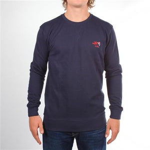 Preppy Sweater - Navy
