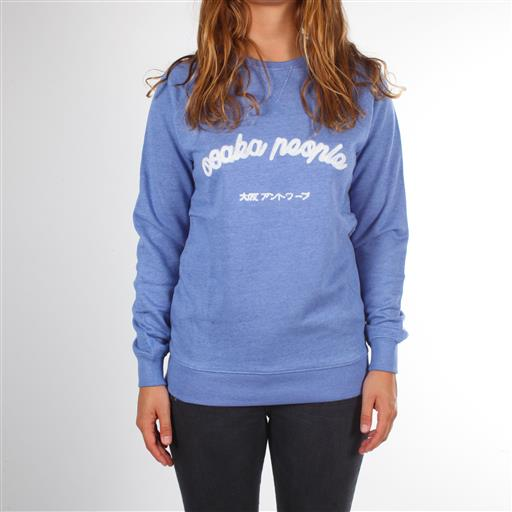 Osaka People Sweater - Sky Blue