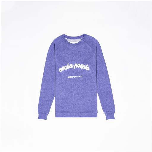Women Osaka People Sweater - Sky Blue
