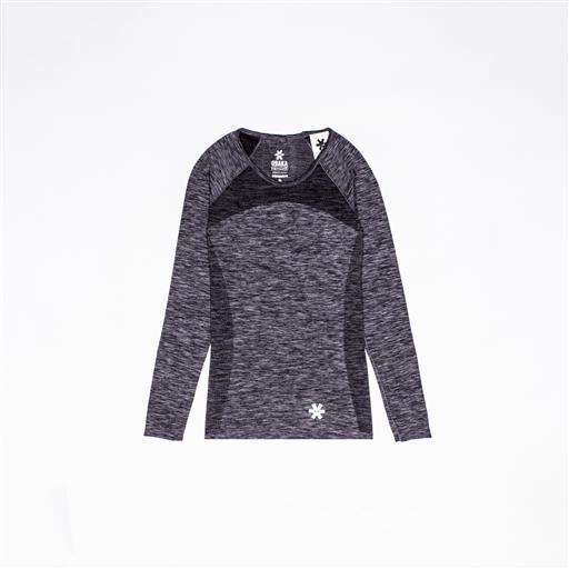 Tech Knit Tee Long - Grey Melange