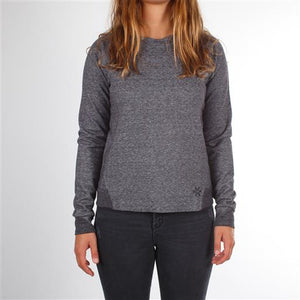 Techleisure Sweater - Black Melange