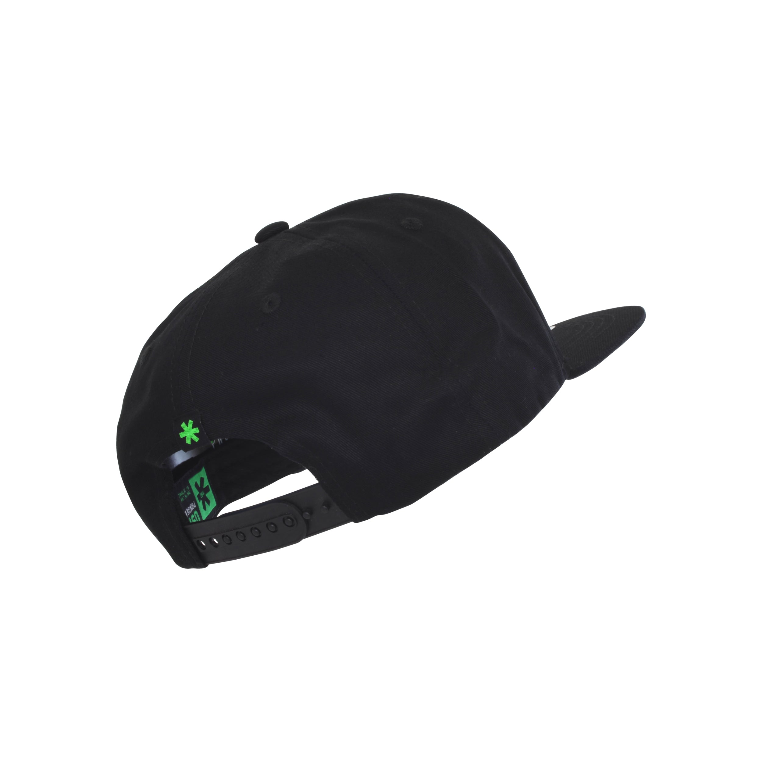 Snapback Flat - Black Canvas