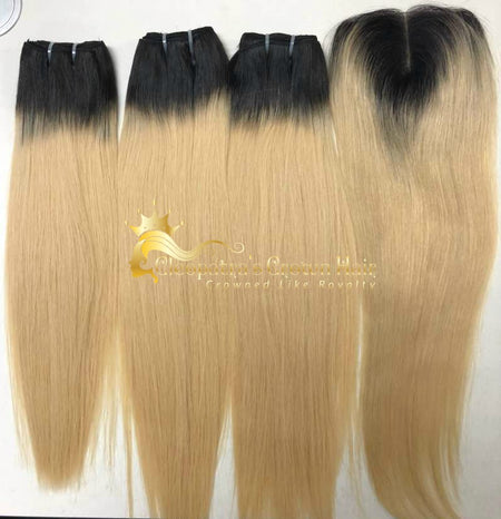 Raw Russian #613 4x4 Lace Closure