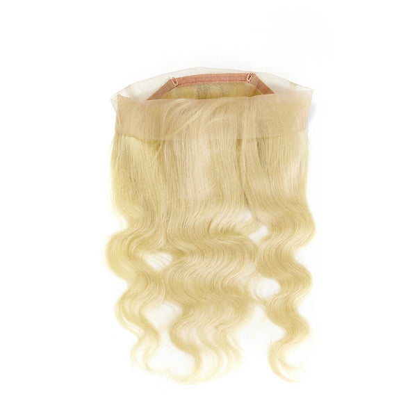 Raw Russian #613 Blonde 100% Human Hair 360 Lace Frontal - Body Wave