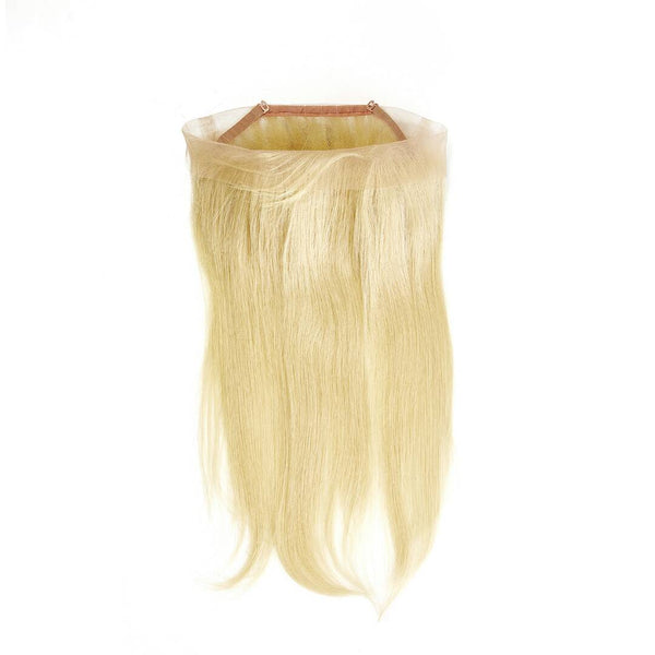 Raw Russian #613 Blonde 100% Human Hair 360 Lace Frontal - Straight