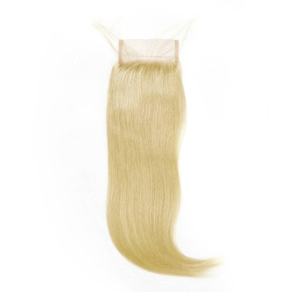 Raw Russian #613 Blonde 4x4 Lace Closure - Straight